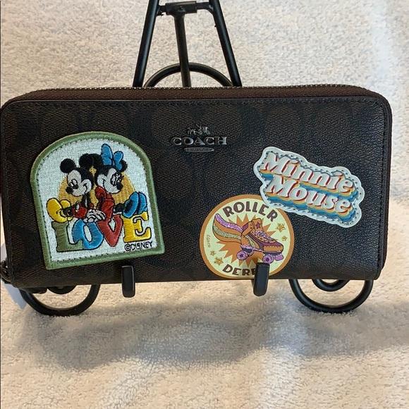 Coach Handbags - Coach Disney  Minnie Mouse Accordion Wallet  NWT
